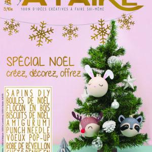 Couverture magazine Idées à Faire 18 spécial Noël