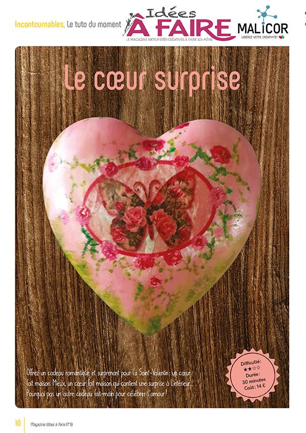Cœur surprise Idées à Faire 19