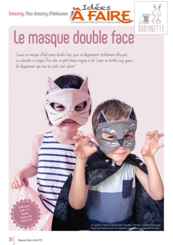 masque dodynette