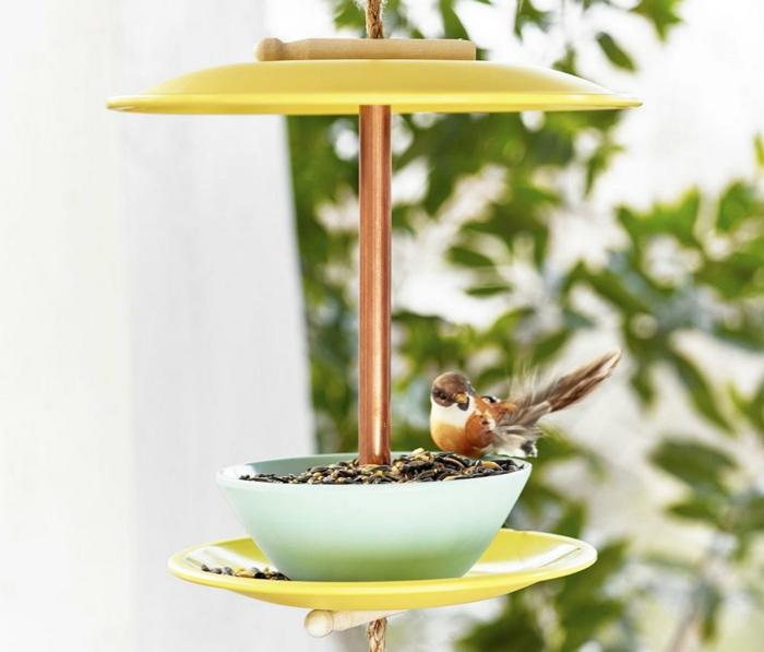 Mangeoire à oiseaux DIY