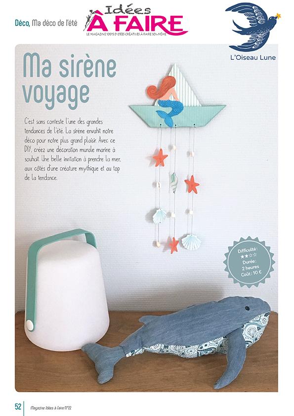 sirene plastique fou iaf22