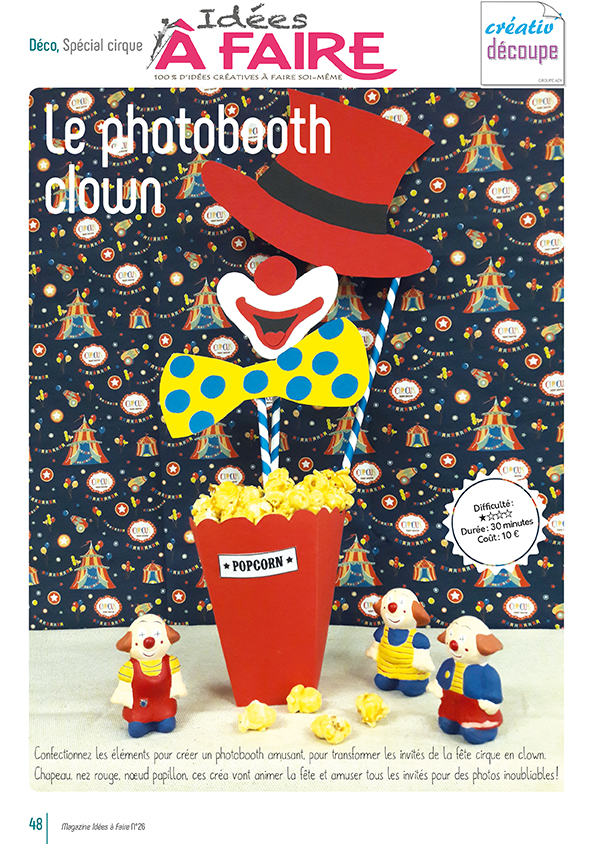 Photobooth clown - IAF 26