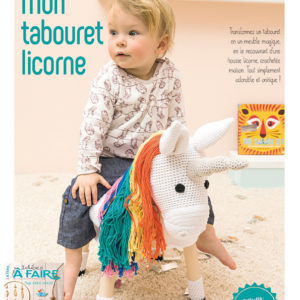 iaf22 tabouret crocheté