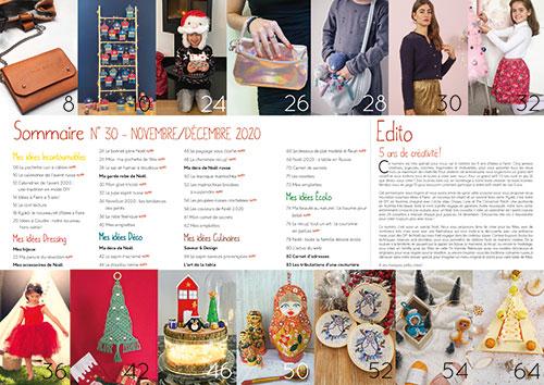 Sommaire magazine Idées à Faire N°30