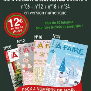 Cadeau pack Noël Idées à Faire