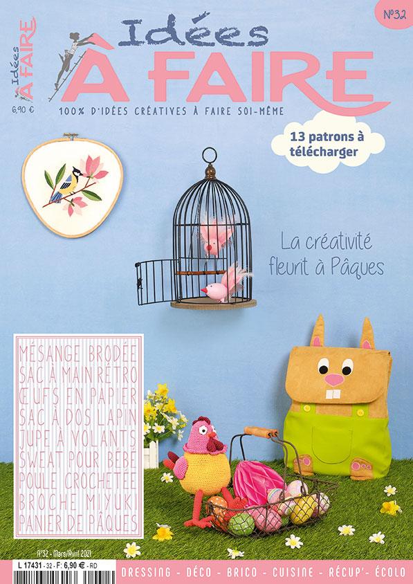 magazine Idées à Faire numéro mars-avril 2021